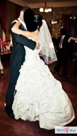 1200f0dc9e SPRZEDAM ŚLICZNĄ BIAŁĄ SUKNIĘ ŚLUBNĄ - Suknie ślubne - Ogłoszenie ...