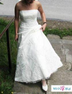 Sprzedam śliczną, delikatną nic nie zniszczoną suknie