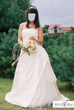 Sprzedam śliczną francuską suknię ślubną