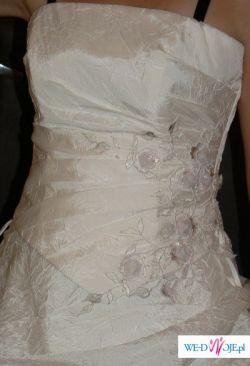 Sprzedam śliczną i niepowtarzalną suknię ślubną