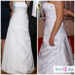 Sprzedam śliczną i wygodną suknię ślubną!