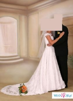 Sprzedam śliczną koronkową suknię Cymbeline model Renoir (Sacha) w cenie 999 zl.