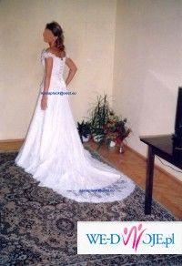 Sprzedam śliczną koronkową suknię ślubną CYMBELINE model RENOIR (SACHA) za 999