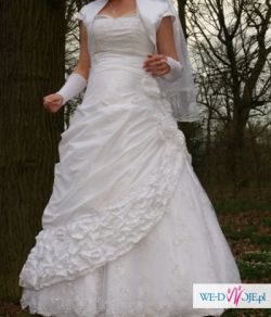 f939aeb209 Sprzedam śliczną sukienke ślubną