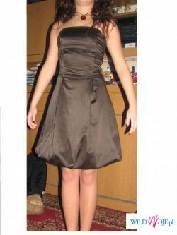 sprzedam śliczna sukienke sukienke na studniówke, bal...