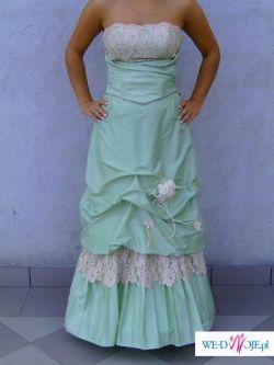 sprzedam śliczną suknię balową lub też wieczorową