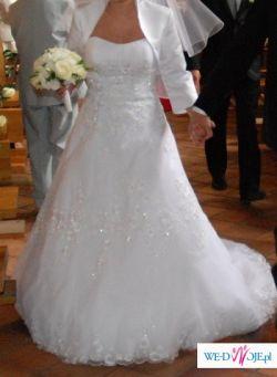 Sprzedam śliczną suknię Demetrios 2802