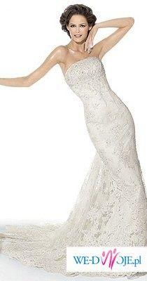 sprzedam śliczną suknię INDIA z kolekcji PRONOVIAS, firmy MADONNA