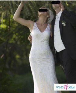 Sprzedam śliczną suknię Pronovias Lorca