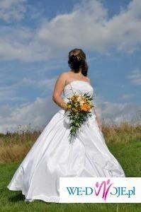 sprzedam śliczna suknie ślubna 42/44