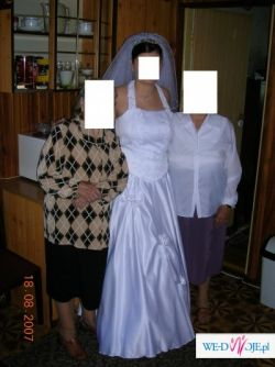 sprzedam sliczną suknię ślubną