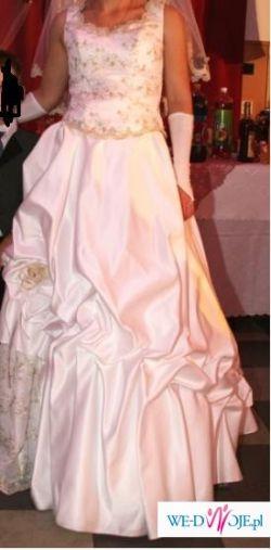 Sprzedam sliczną suknię ślubną.