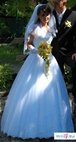 Sprzedam śliczną suknie ślubną.