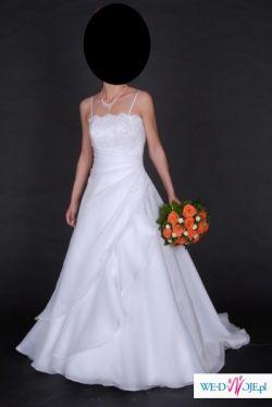Sprzedam śliczną suknię ślubną Agora