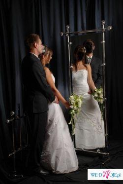 sprzedam śliczną suknię ślubną + bolerko