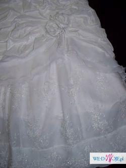 sprzedam śliczną suknię ślubną dla księżniczek:)