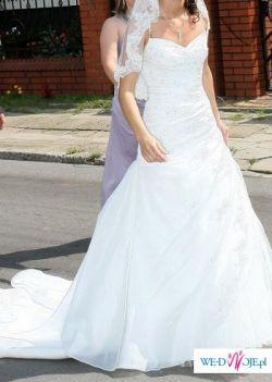 Sprzedam sliczna suknie slubna firmy Atelier Diagonal kolekcja 2009