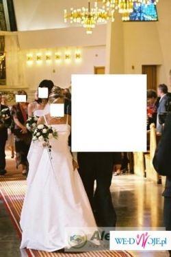 Sprzedam śliczną suknię ślubną firmy Carmen