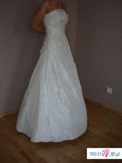 Sprzedam ŚLICZNĄ suknię ślubną firmy CYMBELINE