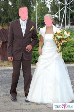 sprzedam śliczna suknie ślubna firmySELLA CELISE rozm.36/38