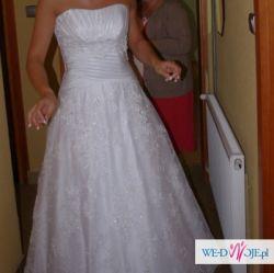 Sprzedam śliczną suknię ślubną Kareen 2012