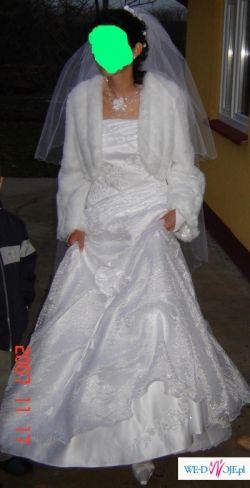 Sprzedam śliczną suknie ślubną.KWIDZYN