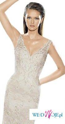 sprzedam śliczną suknie ślubną La Sposa SALA