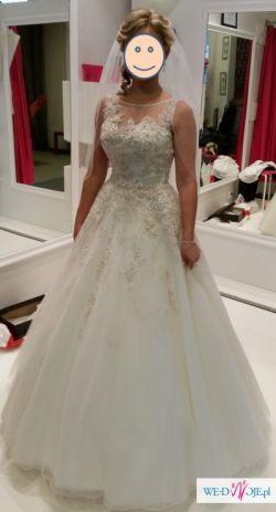 Sprzedam śliczną suknię ślubną model Justin Alexander 8726