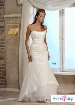 Sprzedam śliczną suknię ślubną roz.36!!!