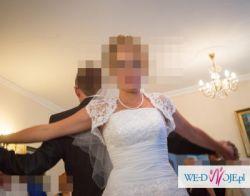 Sprzedam Śliczną Suknie Ślubną rozm. 36-40