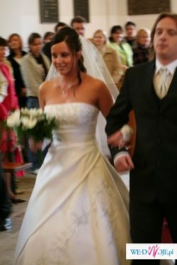 """sprzedam śliczną suknie ślubną """"Sondic""""z salonu Tylko Ona"""