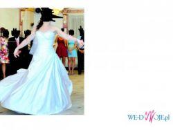 Sprzedam śliczną suknie ślubna Spring Sincerity z satyny królewskiej