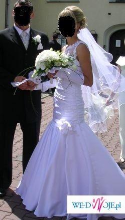 Sprzedam śliczną suknię ślubną-super cena!!!