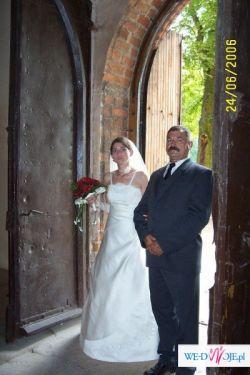 sprzedam śliczną suknię ślubną-TANIO!!!