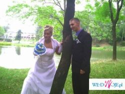 Sprzedam śliczną suknie ślubną-TANIO