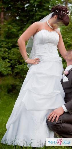 sprzedam sliczna suknie slubna TANIO!!!!