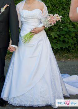 Sprzedam śliczną suknię ślubną w bardzo dobrym stanie/38