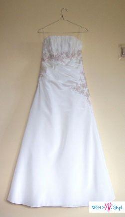 Sprzedam śliczną suknię ślubną w rozmiarze 38
