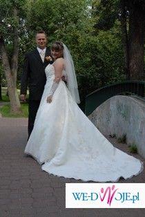 Sprzedam śliczną suknie ślubną z kolekcji Isabel De Mestro