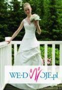 sprzedam śliczną suknie ślubna z welonem