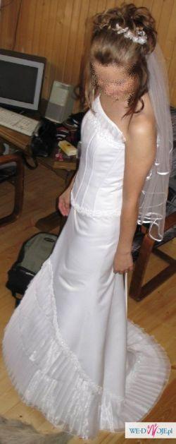 Sprzedam śliczną suknię ślubna za niską cenę!!!