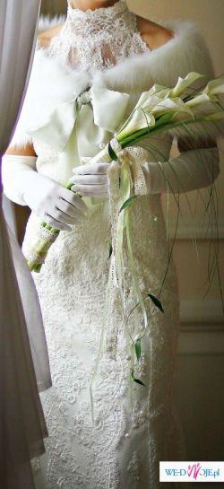 Sprzedam śliczną suknię WHITE ONE 207 ECRU