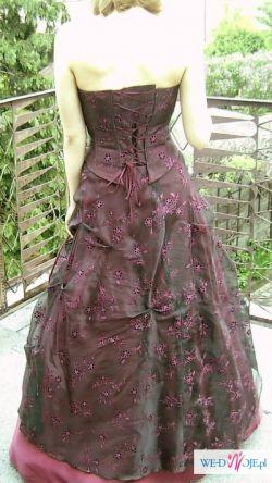 Sprzedam śliczną suknie wieczorową