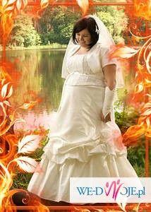 sprzedam śliczna suknię własnego projektu,WARTO!!!!