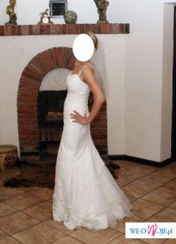 Sprzedam śliczną suknię z kolekcji firmy  MS - MODA