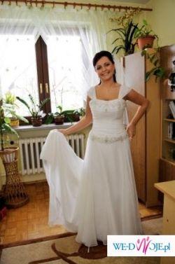 Sprzedam śliczną, wyjątkową suknię ślubną