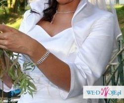 Sprzedam  ślubne białe bolerko