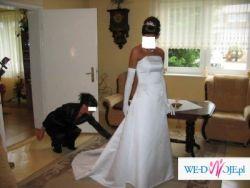 Sprzedam subtelną suknię ślubną
