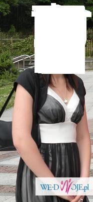 Sprzedam sukienkę czarno-białą