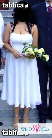 Sprzedam sukienkę do ślubu lub wizytową ecru PIĘKNA jak nowa